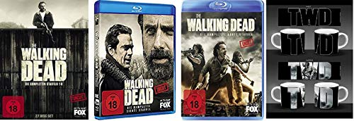 The Walking Dead Staffel 1-8 (1+2+3+4+5+6+7+8) [Blu-ray Set] + Walking Dead Tasse