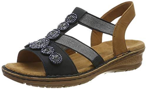 ARA dames Hawaii 1237207 T-spangen sandalen