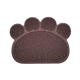Cherry Cronin convenient Pet Puppy Cat Feeding Mat Pad Cute PVC Bed Dish Bowl Food Feed Placement UK Hot