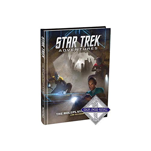 Modiphius Entertainment Star Trek Adventures Core Rulebook RPG for Adults, Family and Kids 13 Years Old and Up (Licensed Sci-Fi RPG)
