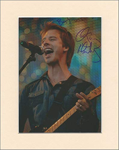 Chesney Hawkes One And Only Autogrammkarte, im Passepartout