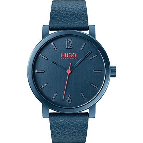 Hugo Herren Analog Quartz Armbanduhr Rase