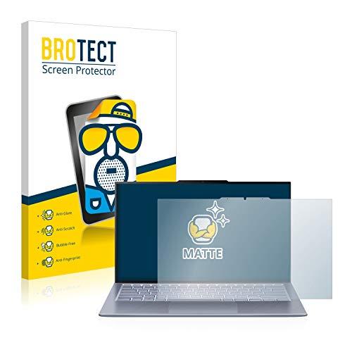 BROTECT Entspiegelungs-Schutzfolie kompatibel mit Asus ZenBook S13 UX392FN Bildschirmschutz-Folie Matt, Anti-Reflex, Anti-Fingerprint