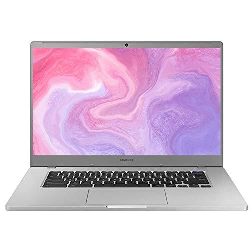 2021 Samsung Chromebook 4+ 15.6 Inch FHD 1080P Laptop, Intel Celeron N4000 up to 2.6 GHz, 4GB LPDDR4 RAM, 32GB eMMC, WiFi, Webcam, Chrome OS + NexiGo 32GB MicroSD Card Bundle