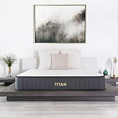 """Brooklyn Bedding Titan 11"""" TitanFlex Hybrid with TitanCaliber Coils and Cooling Top, Cal King"""