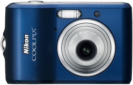 Nikon Coolpix L18 8MP Digital Camera Optical Navy Sales of SALE items from new works Cheap mail order shopping with 3x Zoom