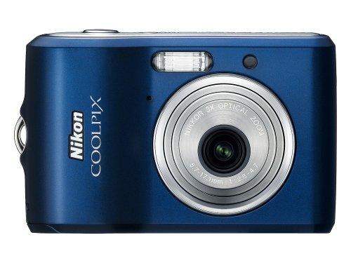 Nikon Coolpix L18 8MP Digital Camera with 3x Optical Zoom (Navy)