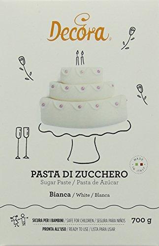 Decora 0310109 Pasta Di Zucchero Bianca 700 G