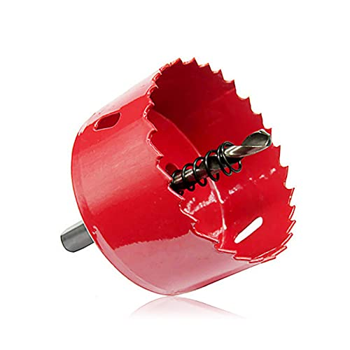 SIZIMA Hole Saw Centering Drill diámetro 60mm Holesaw para cortar agujeros circulares