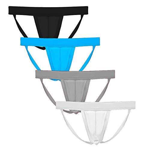 Summer Code Homme Suspensoir Jockstrap String Ficelle Coquille Protection Lot de 2/4