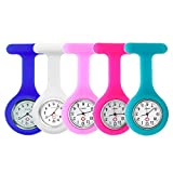 5pcs Silicone Watch for Nurses