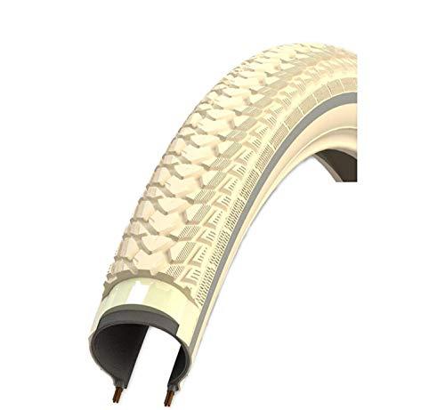 1X Rexway 'Shopper Neumático de la Bicicleta Abrigo Manta Crema Reflex Protección Asfalto 47-622