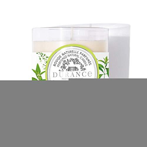 Durance - Vela perfumada natural brillante con aroma a verbena