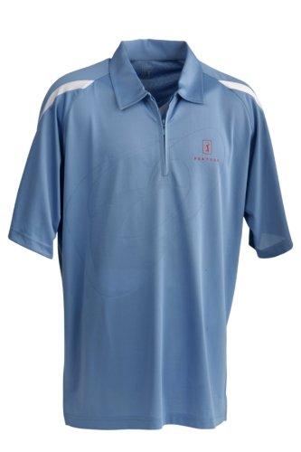 PGA Tour Newburgh - Polo da Uomo, Uomo, PGAT545XXL, Bleu - Bleu, XXL