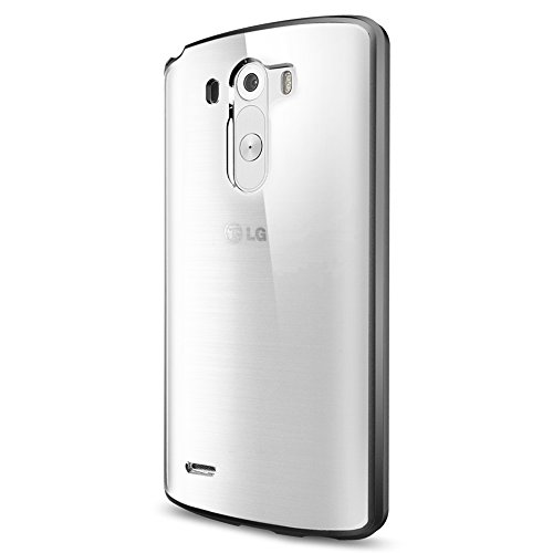 Spigen Ultra Hybrid LG G3 Case with Air Cushion Technology and Hybrid Drop Protection for - Gunmetal
