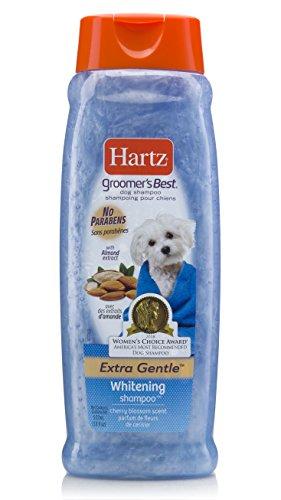 Hartz Groomer's Best Whitening Dog Shampoo, 18 Ounce Bottle