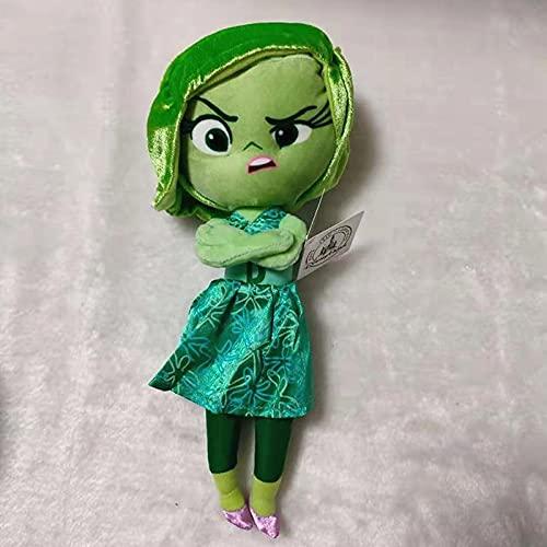 aolongwl Peluche Film Inside out Personaggi dei Cartoni Animati Disgusto Peluche Bambole 29cm Regalo per Bambini Kawaii