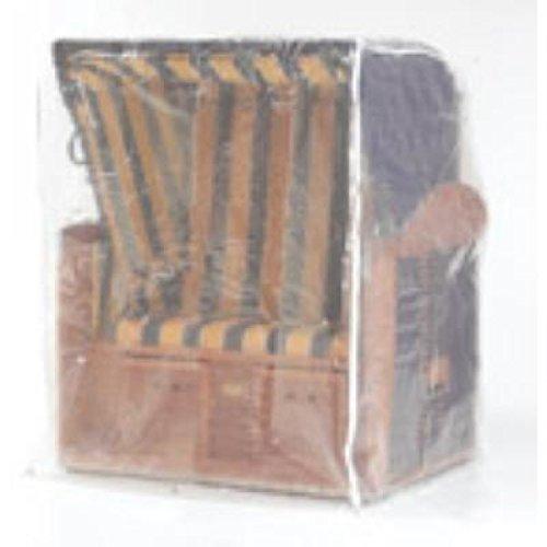 Sonnenpartner Schutzhülle transparent für Strandkorb 2 Sitzer 70090038