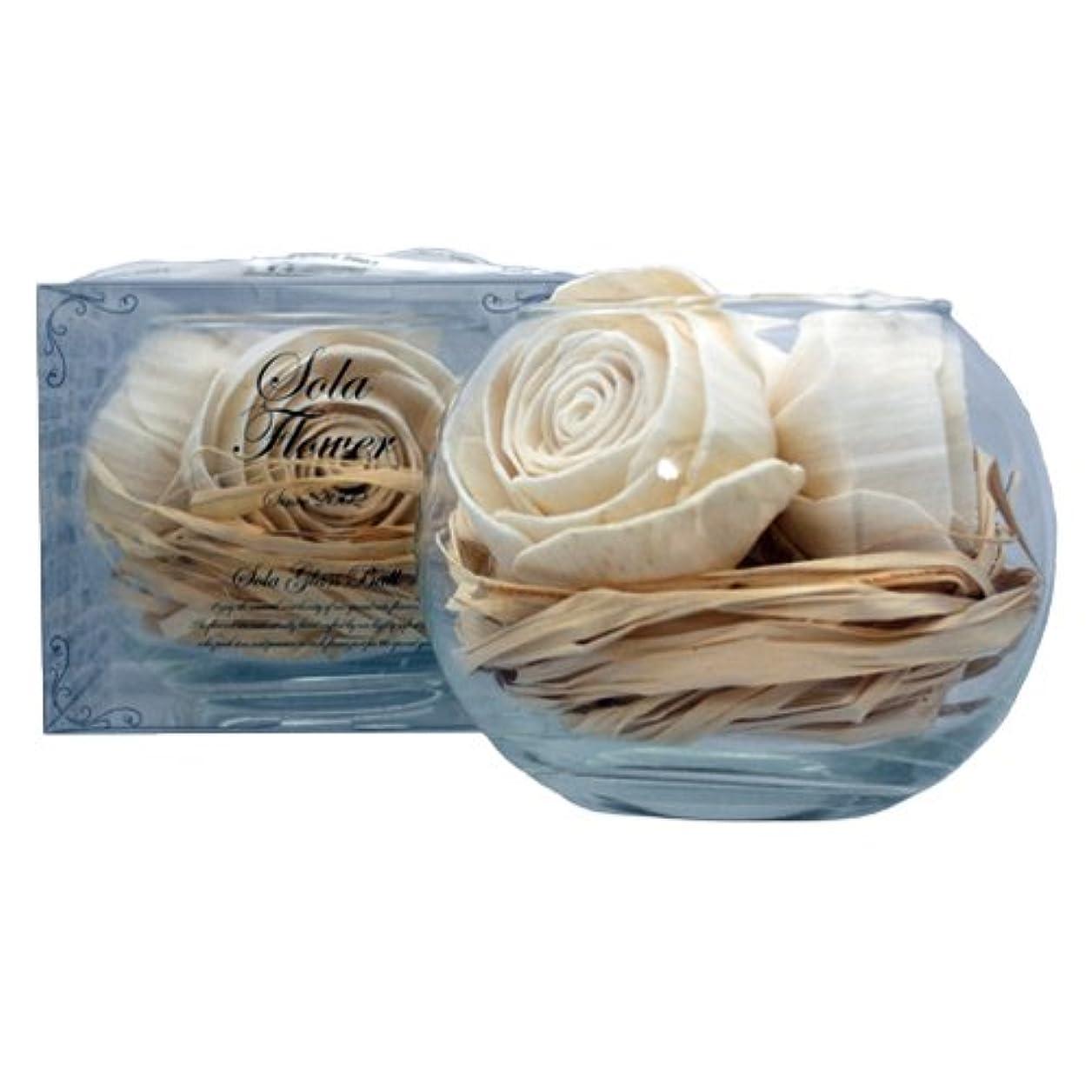 かごベンチャー制限new Sola Flower ソラフラワー グラスボウル Original Rose オリジナルローズ Glass Bowl
