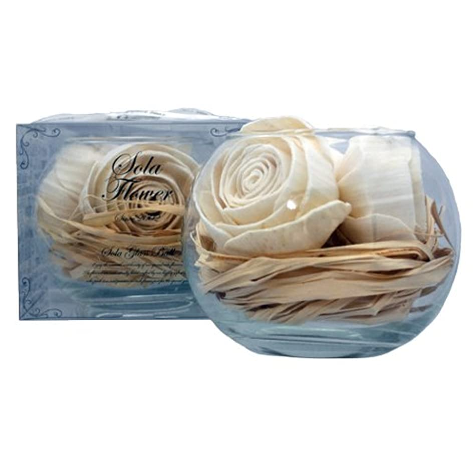 エンジニアサーバ浴new Sola Flower ソラフラワー グラスボウル Original Rose オリジナルローズ Glass Bowl