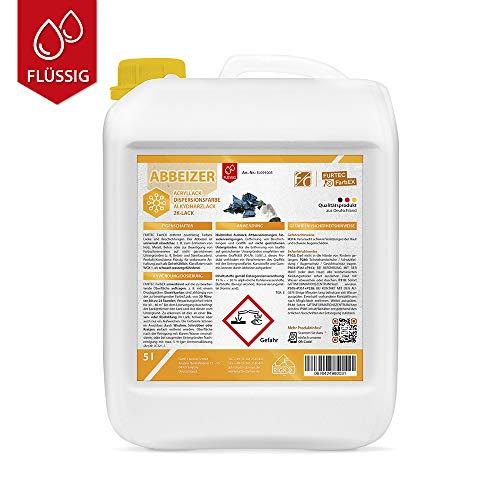 Furth Chemie, Flüssig-Abbeizer, Farb- und Lack-Entferner für Holz, Metall, Beton, 5L