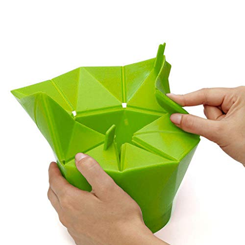 qingqingR Fai da Te Cucina Pieghevole Microonde Popcorn Maker Ciotola Secchio Snack Strumento Contenitore di Cottura