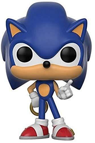 Funko - Figurine POP! Vinyl Games Sonic w/ Ring, 20146