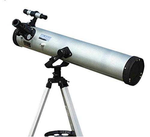 Lzy Telescopio 76700 Camiseta de Astronomía 3 Pulgadas Metal Reflecto