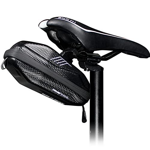 WILD MAN Bolsa impermeable para tija de sillín de bicicleta de montaña