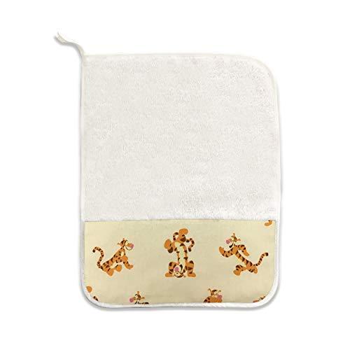 Toalla grande o pequeña para la guardería 100% algodón rizo - made in Italy - set de asilo 30x38 o 43x54, baby food, snack