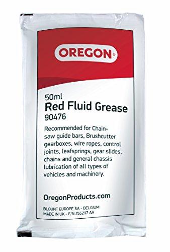 Oregon 90476rot Fluid Fett 50ml Sachet zur Schmierung Chainsaw Bar Nase Ritzeln
