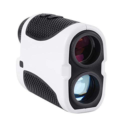 STKJ 1000M Protable Golf-Entfernungsmesser, Winkel-Scan-Fernglas Digital-Entfernungsmesser Jagd LED-Hang