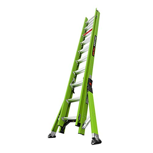 Little Giant Ladder Systems 18820 HyperLite Sumostance Extension Ladder, 20 Ft, Green