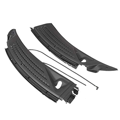 JMTAAT Front Windshield Wiper Cowl Panel Vents Set w/Seals Fits 2009-2014 Ford F150 (Driver Left & Passenger Right) Replacement for BL3Z-15022A69-A & BL3Z-15022A68-A