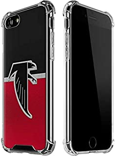 Skinit Clear Phone Case for iPhone 7 - Officially Licensed NFL Atlanta Falcons Vintage Design