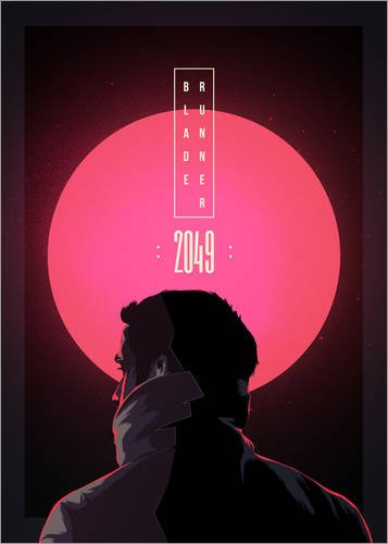 Póster 50 x 70 cm: Blade Runner - 2049 de Fourteenlab - impresión artística, Nuevo póster artístico