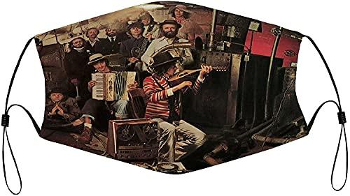 Bob Dylan The Keller Tapes Wiederverwendbare Gesichtsmasken, waschbar, verstellbar, staubdicht, für Herren, weiß-style12