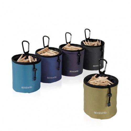 Brabantia Coloured Clothes Peg Bag - Accesorio de hogar (140 mm, 150 mm, 140 mm)...