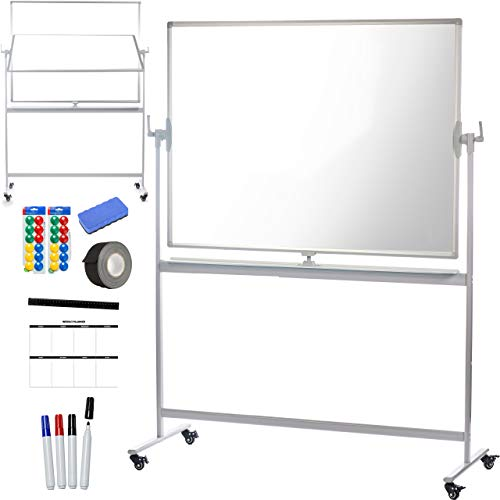 Creative Space Standing Mobile Whiteboard