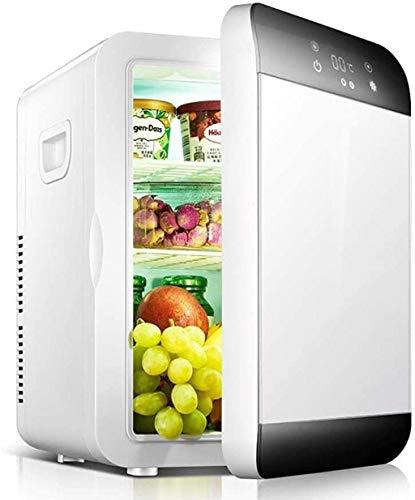 FDSZ Coche refrigerador Congelador Calefacción Multifuncional Inteligente Dual-Sistema refrigerador Mini refrigerador Camping Portátil Refrigerador de Viaje 22L