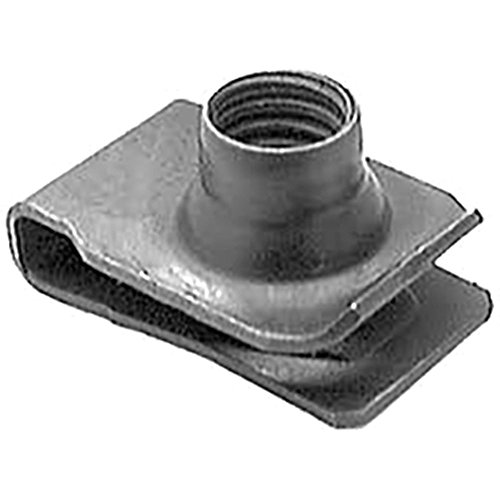 BoltmanShop Extruded U Nut fits M8-1.25 Screw Size, for GM Ford CHRY (25pkg)