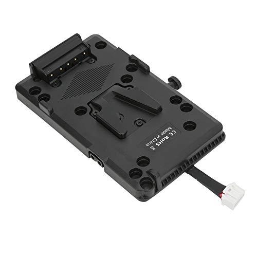 Placa de batería, V-Lock Profesional Placa de batería V-Lock Sistema de Fuente de alimentación D-Tap para cámara BMD URSA mini4K 4.6K EF URSA