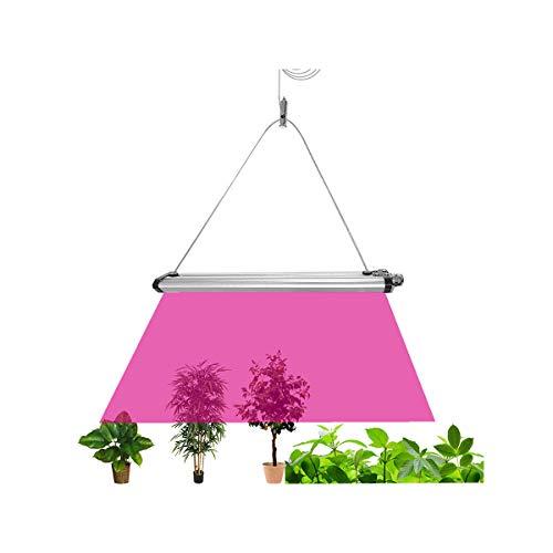 Lominie LED成長ライト、フルスペクトルBAR15H調光可能な屋内植物成長ランプ、温室用水耕栽培野菜、リモートコントローラー付き