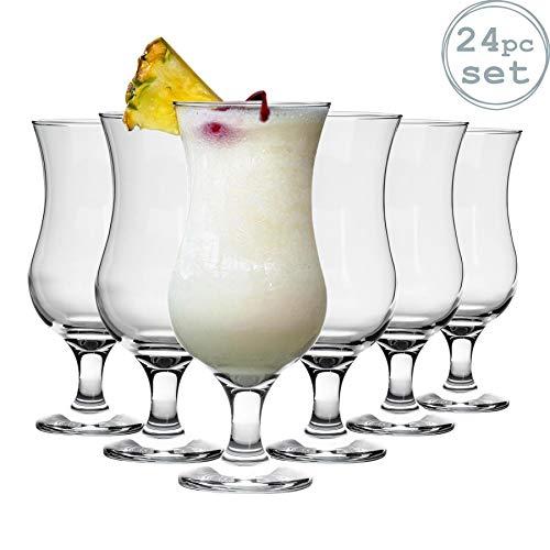 Rink Drink Copa para cócteles Piña Colada - 460 ml - Pack de 24 Especial para Fiestas