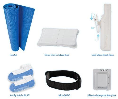 Kit d'accessoires 6 en 1 pour Wii Fit
