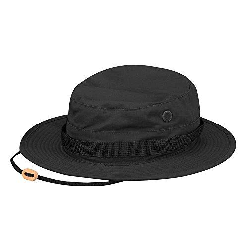 Propper Chapeau de Brousse 100 % Coton - Noir, Taille 62