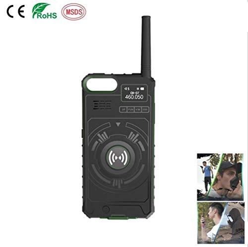 YCRD Walkie Talkie Profesional Recargable. ComunicacióN De IntercomunicacióN Multicanal Al Aire Libre, Adecuada para TeléFonos MóViles Shell Mobile Power