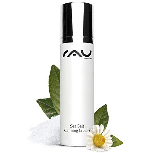 RAU Sea Salt Calming Cream 50 ml - Beruhigende Gesichtscreme mit Wertvollem Meersalz und PHA, Anti-Pickel