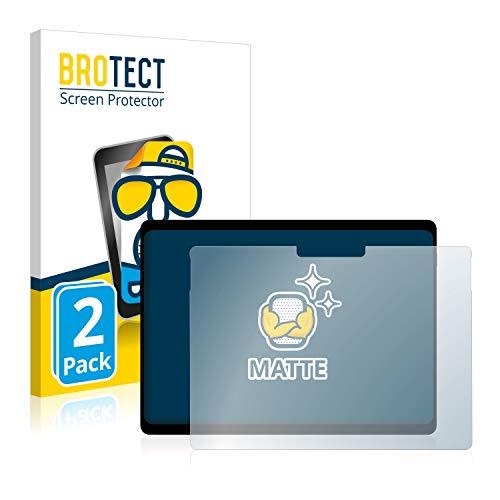 BROTECT 2X Entspiegelungs-Schutzfolie kompatibel mit Microsoft Surface Pro X Bildschirmschutz-Folie Matt, Anti-Reflex, Anti-Fingerprint