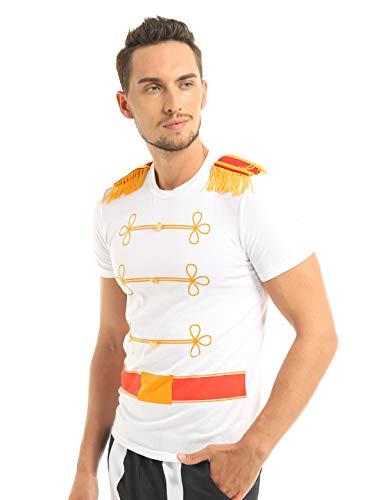 MSemis Disfraz Príncipe Encandador para Hombres Disfraces Halloween Adulto Cosplay Cenicienta Traje Disfraces Principe Medieval Chicos Halloween Carnaval